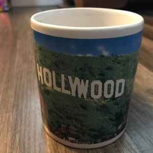 Hollywood coffee cup